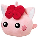 ピンク/ねこ耳ほっぺちゃんミニぬいぐるみ