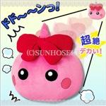 【WEB限定価格】ピンク/ほっぺちゃんジャンボぬいぐるみ
